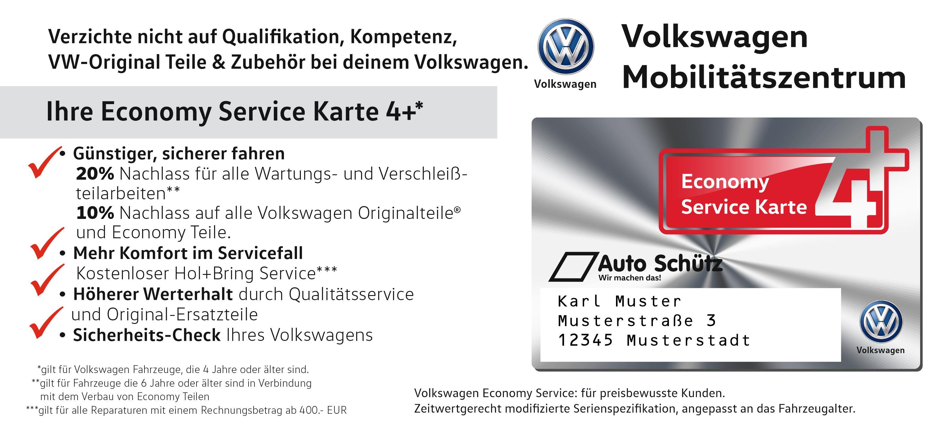 4Plus - VW Auto Schütz - Mobilität der Zukunft
